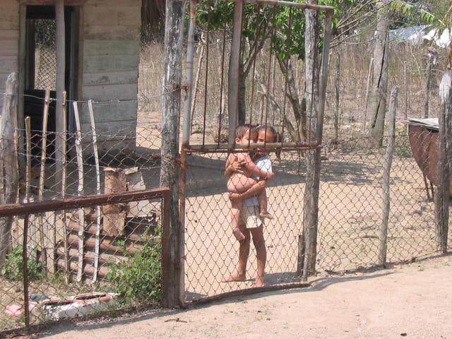 Petits enfants cubains