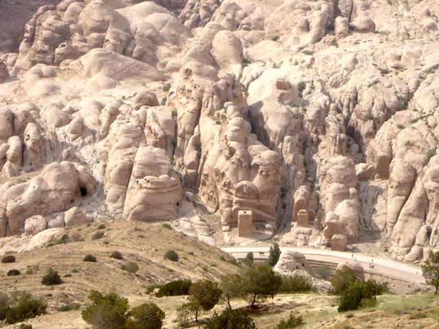 Pétra de la route panoramique