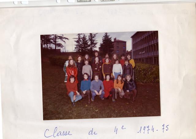 Photo de classe de 4e