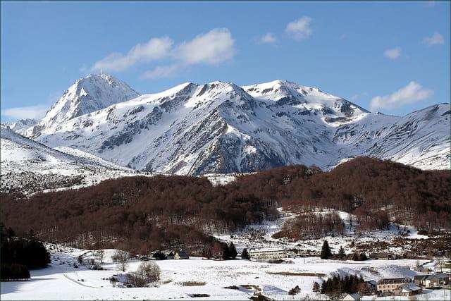 Pic du Midi et station ski de fond Payolle