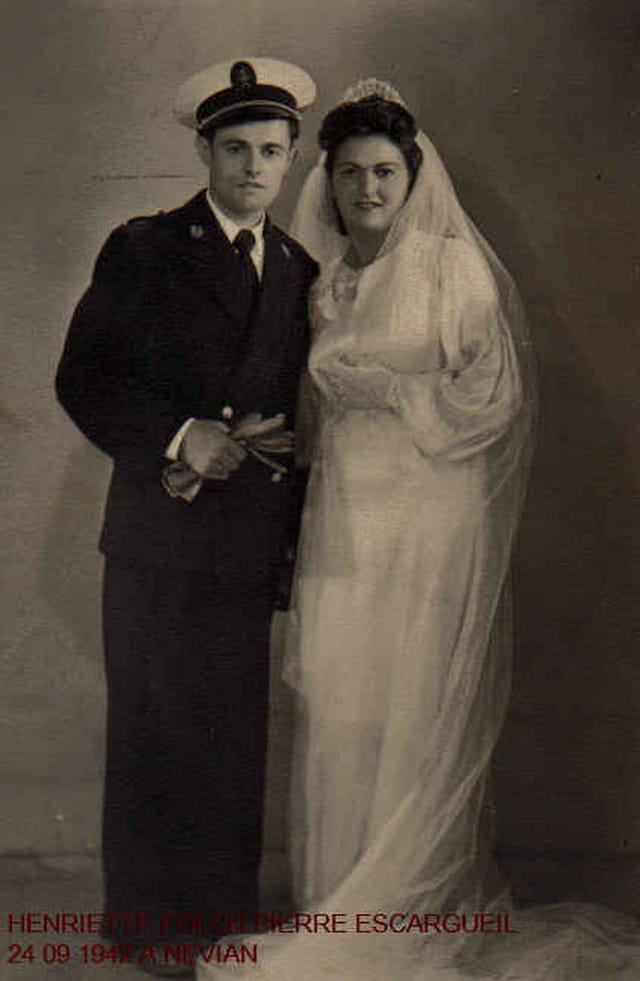 Pierre et Henriette Escargueil