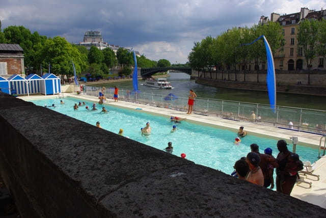 Piscine de Paris plage