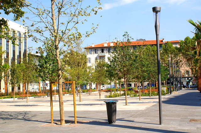 Place armée du rhin rénovée