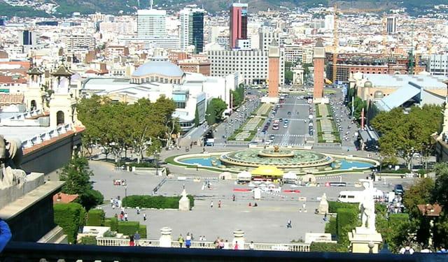 Place d'Espagne Barcelone