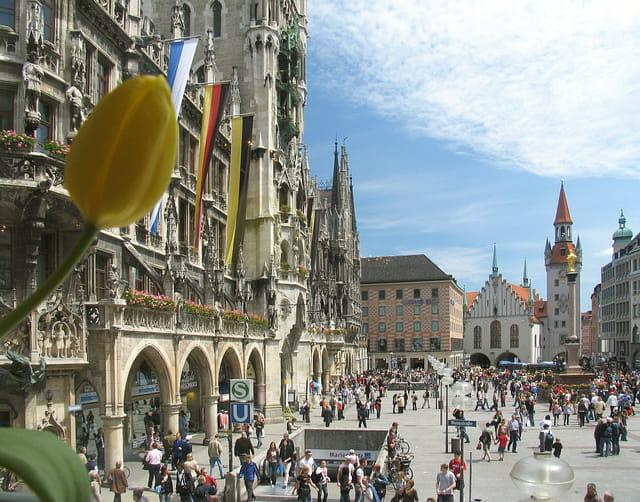 Place de la Mairie de Munich