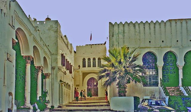 Place et mosquée