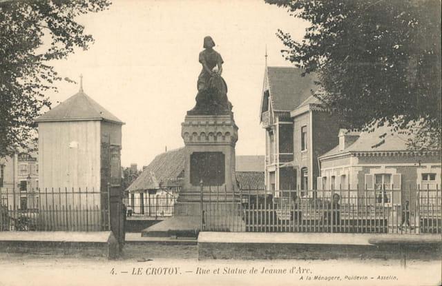 Place et statue jeanne d'arc