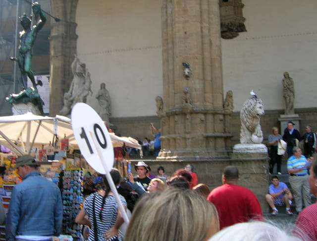 Place Signoria Florence