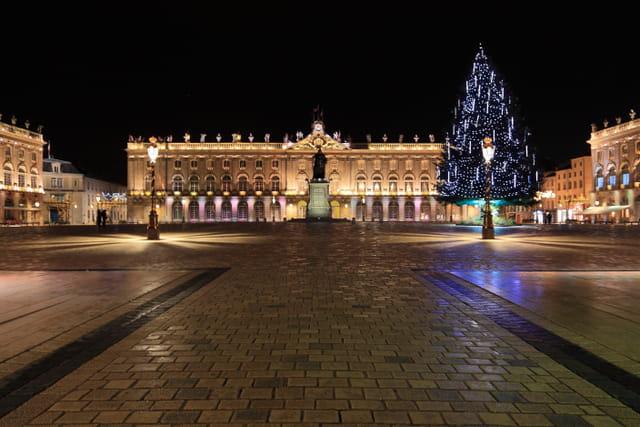 Place Stanislas de nuit (Noel 2011)