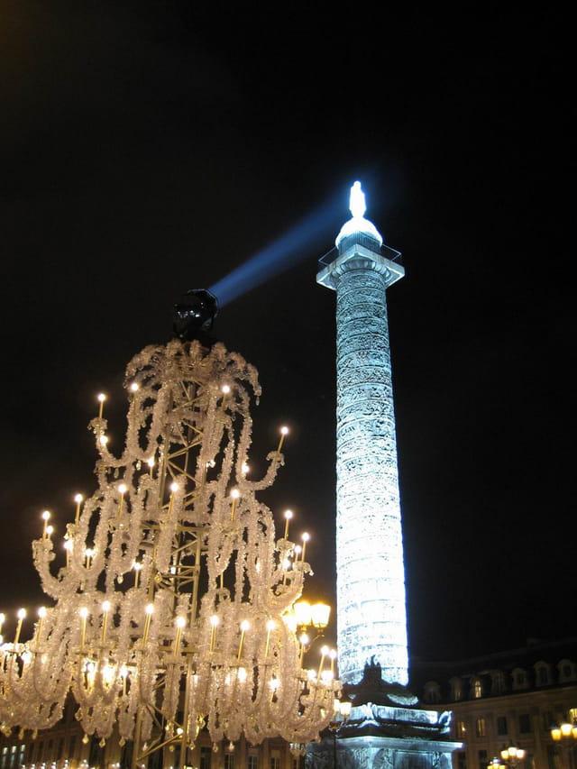 Place Vendôme de nuit
