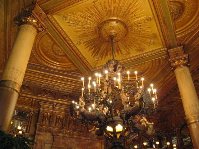 Plafond ancien..