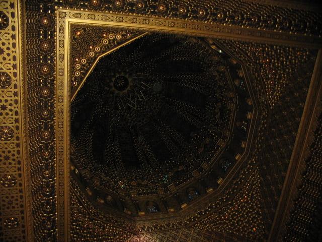 Plafond du mausolée