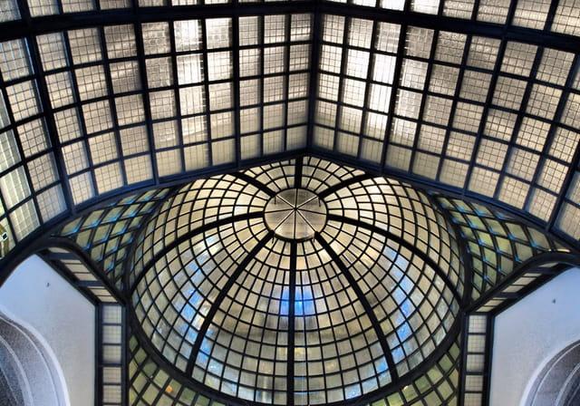 plafond en verre