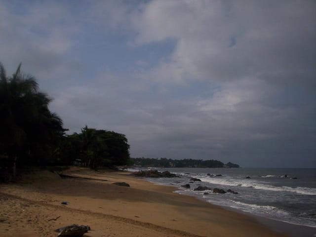 Plage de Kribi, Cameroun