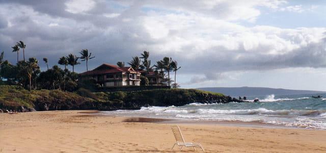 Plage hawaiienne