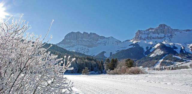 Plaisir de la neige à Gresse en vercors