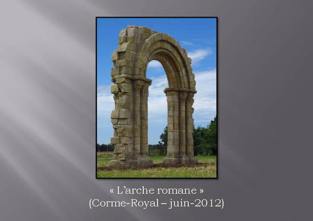 Plé, Créateur de ronds-points 27. Arche romane
