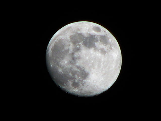 Pleine lune d'hiver