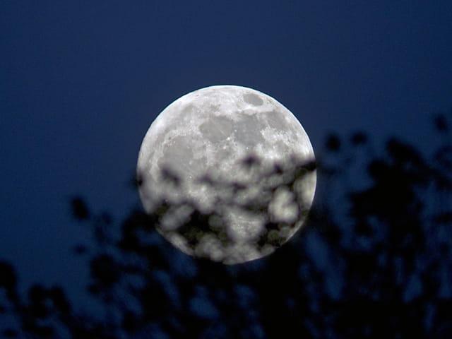 Pleine Lune toute blanche