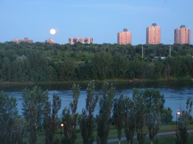 Pleine lune verdun quebec