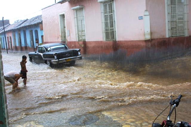 Pluie et pollution