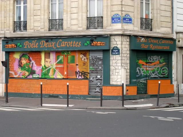 Poêle Deux Carottes