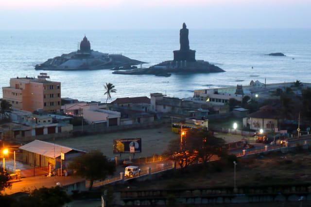 Pointe Sud de l'Inde