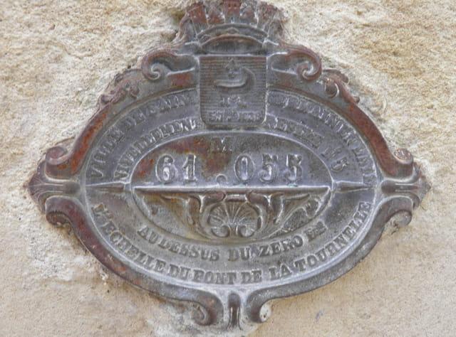 Points géodésiques, du Pecq à Saint-Germain