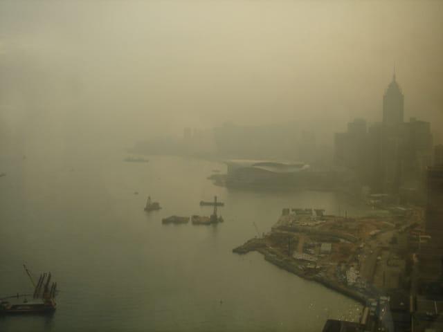 Pollution à Hong Kong