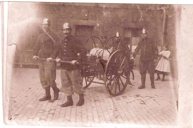 Pompiers à Dinan