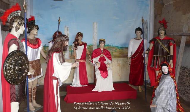 Ponce Pilate à la ferme aux mille lumières 2012