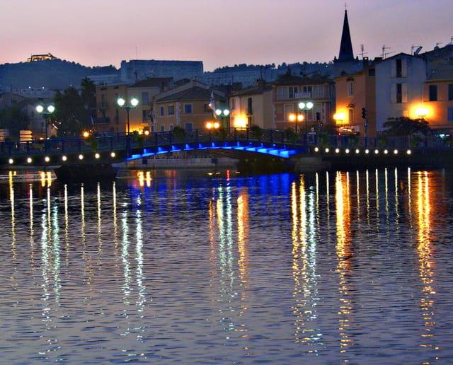 Pont bleu Martigues