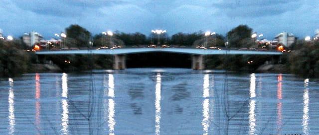 Pont impressionniste sur la Seine