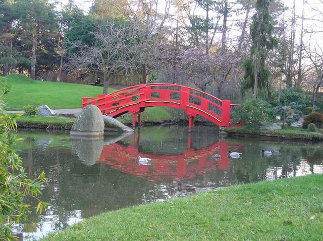 Pont jardin japonais