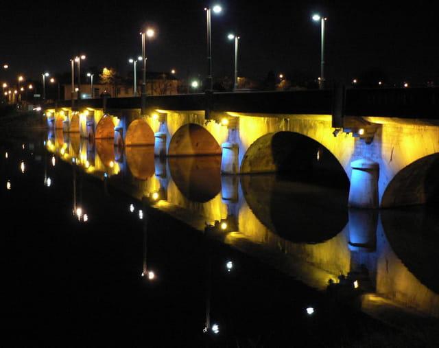 Pont la nuit
