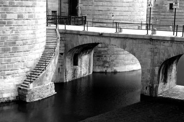 Pont levis du château