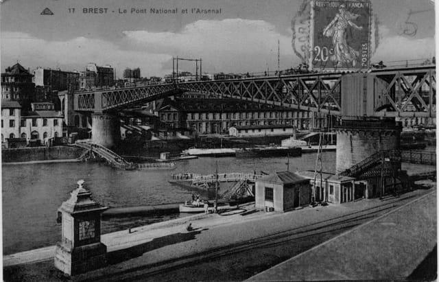 Pont National et le Petit Pont Gueydon