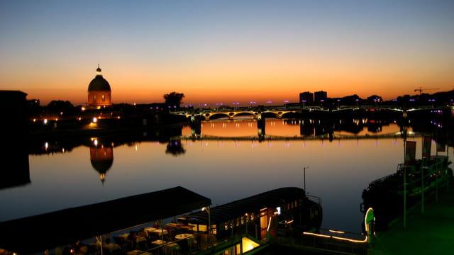 Pont Neuf de nuit