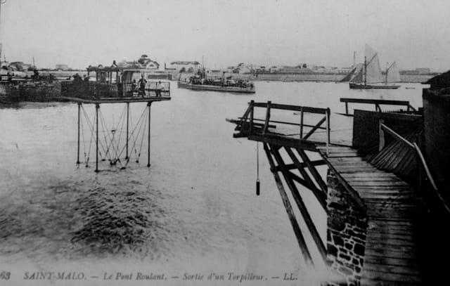 Pont roulant de Saint Malo