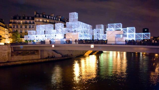 Pont saint-louis, 3D Bridge