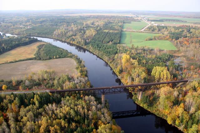 Pont sur la rivière Batiscan