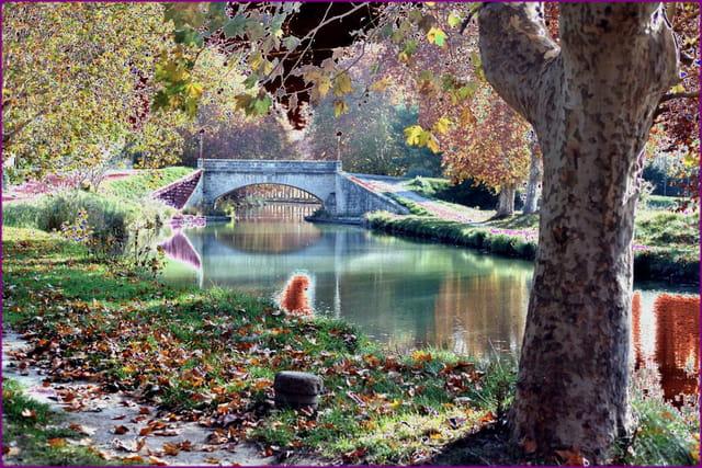 Pont, sur le canal du Midi