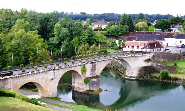 Pont sur le gave