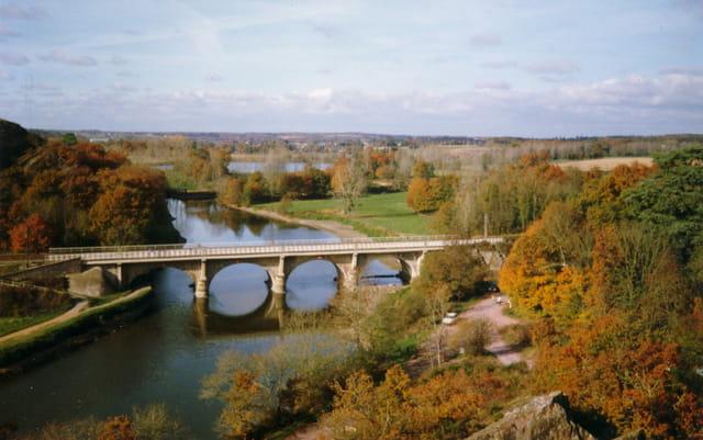 Pont voie ferrée au boël
