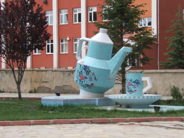 Porcelaine géante à yalvaç