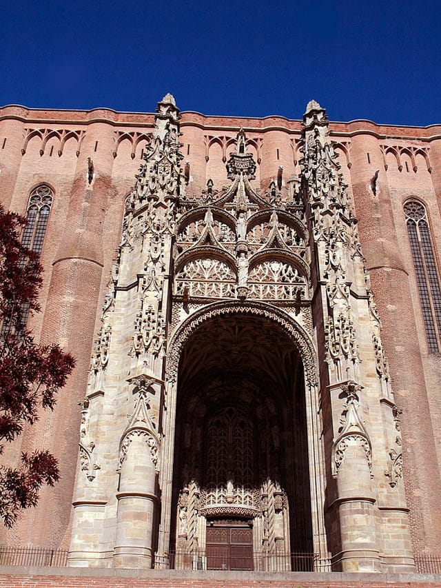 Porche d\'entrée cathédrale d\'Albi