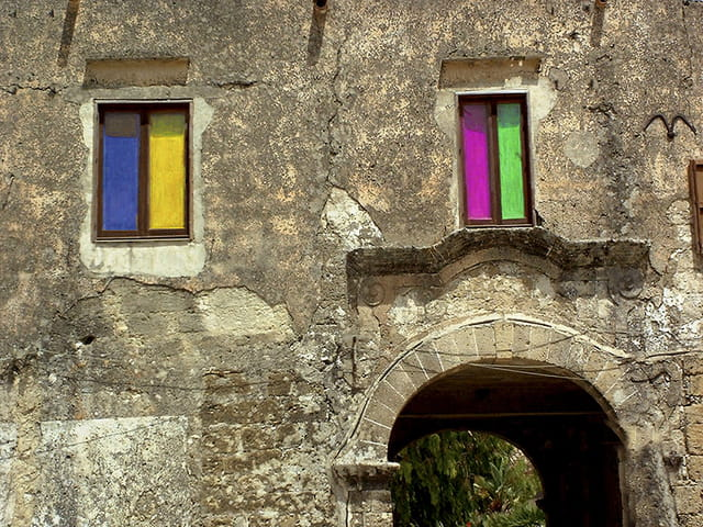 Porche et fenêtres