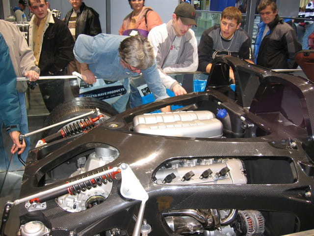 Porsche Carrera GT - Rien à cacher
