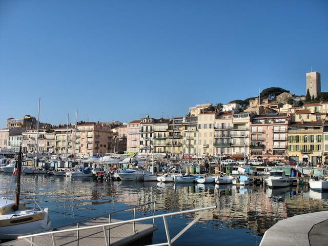 Port à Cannes