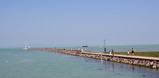 port au lac Balaton